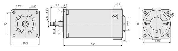永磁直流电机,直流电机,微型电机, 推杆 ||余姚市立微